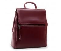 Рюкзак женский кожаный Alex Rai 03-01 1005 бордовый