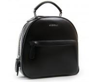 Рюкзак женский кожаный ALEX RAI 03-01 8715 черный