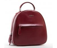 Рюкзак женский кожаный ALEX RAI 03-01 8715 бордовый