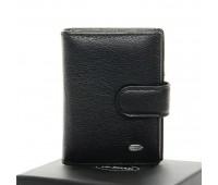 Кошелек DR. BOND M50 мужской кожаный черный