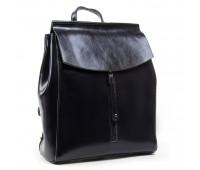 Рюкзак женский ALEX RAI 03-01 3206 кожаный темно-синий