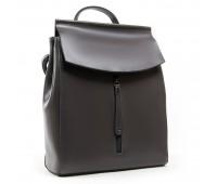 Рюкзак женский ALEX RAI 03-01 3206 кожаный серый