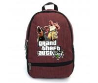 Рюкзак GTA подростковый Cappuccino Toys (gta 001-red)  красный