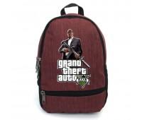 Рюкзак GTA подростковый Cappuccino Toys (gta 003-red)  красный
