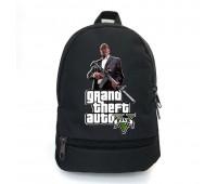 Рюкзак GTA подростковый Cappuccino Toys (gta 003-black)  черный