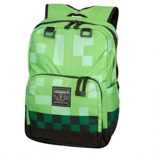 Рюкзак Майнкрафт Minecraft MC02Cr школьный зеленый