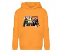 Худи детская  GTA 002 (Grand Theft Auto) оранжевая (GTA orn 002) 116 см