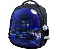 Рюкзак-ранец Winner Stile 6008 школьный ортопедический черно-синий