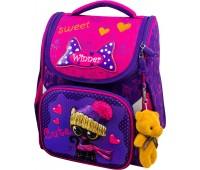 Рюкзак-ранец Winner Stile 2026 школьный ортопедический фиолетово-розовый