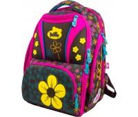 Рюкзак-ранец DeLune 8-101 школьный ортопедический с 3D изображением разноцветный