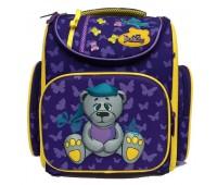 Рюкзак-ранец DeLune 3-137 школьный ортопедический с 3D изображением фиолетовый