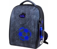 Рюкзак-ранец DeLune 7-144 школьный ортопедический с 3D изображением серый