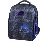 Рюкзак-ранец DeLune 7-147 школьный ортопедический с 3D изображением серый