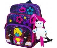Рюкзак-ранец  DeLune 55-11 школьный ортопедический фиолетовый
