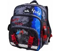 Рюкзак-ранец  DeLune 55-14 школьный ортопедический серый