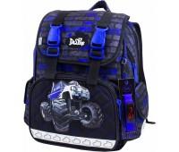 Рюкзак-ранец  DeLune 52-18 школьный ортопедический серый