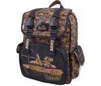 Рюкзак-ранец  DeLune 55-09 школьный ортопедический коричневый