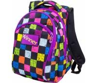 Рюкзак Winner 317 подростковый разноцветный