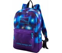Рюкзак Winner 154 подростковый синий с фиолетовым