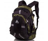 Рюкзак ONEPOLAR W1017 мужской зеленый
