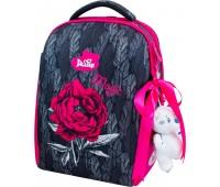 Рюкзак-ранец DeLune 7-149 для девочки школьный ортопедический + пенал и сумка для сменной обуви