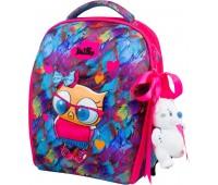 Рюкзак-ранец DeLune 7mini-015 для девочек школьный ортопедический + пенал и сумка для сменной обуви