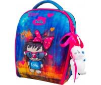 Рюкзак-ранец DeLune 7mini-016 для девочек школьный ортопедический + пенал и сумка для сменной обуви