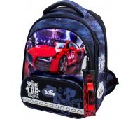Рюкзак-ранец DeLune 9-129 для мальчиков школьный ортопедический + пенал и сумка для обуви