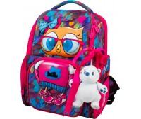 Рюкзак-ранец DeLune 11-025 школьный ортопедический  для девочки