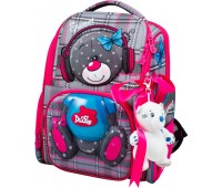 Рюкзак-ранец DeLune 11-026 школьный ортопедический для девочки
