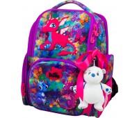 Рюкзак-ранец DeLune 11-028 школьный ортопедический для девочки