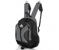 Рюкзак ONEPOLAR  W1297 школьный серый