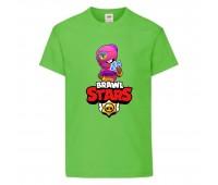 Футболка детская Brawl Stars Tara (Бравл Старс Тара) светлозеленая 104 см