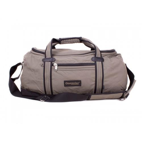 Дорожная сумка ONEPOLAR B808 коричневая