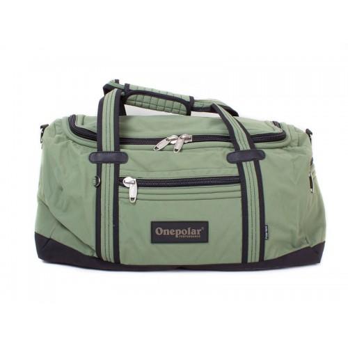Дорожная сумка ONEPOLAR B809 зеленая