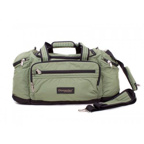 Дорожная сумка ONEPOLAR B810 зеленая