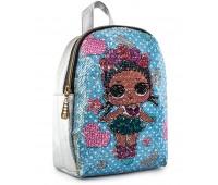 Рюкзак Cappuccino Toys LP-sil2 LOL для девочек серебряный