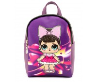 Рюкзак Cappuccino Toys L-viol1 LOL для девочек фиолетовый
