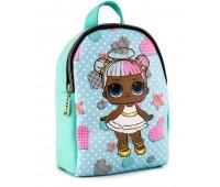 Рюкзак Cappuccino Toys L-m1 LOL для девочек зеленый
