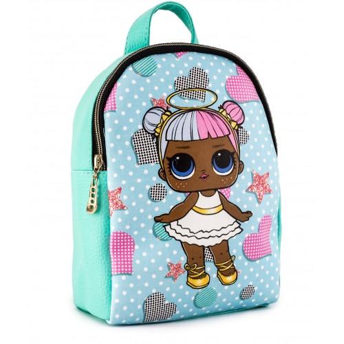 Рюкзак Cappuccino Toys L-m1 LOL для девочек мятный