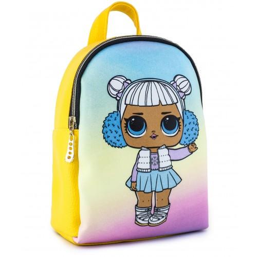 Рюкзак Cappuccino Toys L-y5 LOL для девочек желтый