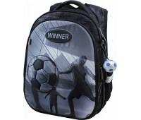 Рюкзак  Winner Stile 8073 школьный черный