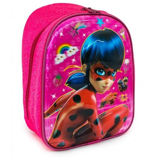 Детский рюкзак Cappuccino Toys Леди Баг 3D дошкольный (3D-LB01) розовый