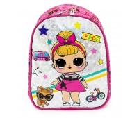 Детский рюкзак Cappuccino Toys LOL Лол дошкольный (Lb-02) розовый
