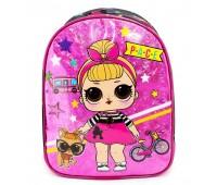 Детский рюкзак Cappuccino Toys LOL Лол дошкольный (Lb-04) розовый