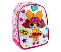 Детский рюкзак Cappuccino Toys LOL Лол дошкольный (Lb-05) розовый