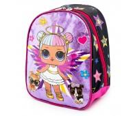 Детский рюкзак Cappuccino Toys LOL Лол дошкольный (Lb-06) розовый