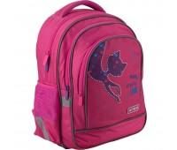 Рюкзак Kite Education Catsline K19-509S-3 школьный розовый