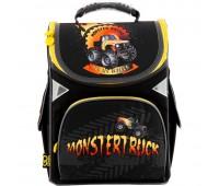 Рюкзак Kite GoPack MONSTERTRUCK GO18-5001S-15  школьный черный