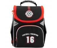 Рюкзак Kite GoPack FOOTBALL CHAMPION GO18-5001S-20  школьный черный
